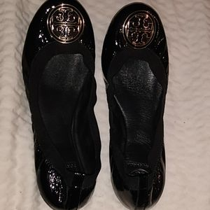 Tory and Burch black flats size 9